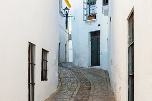 Traditional street of Carmona