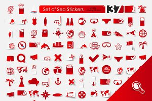 137 SEA sticker icons