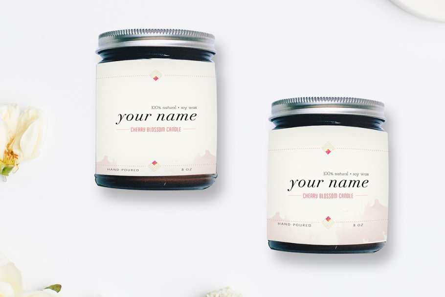 Editable Label Template