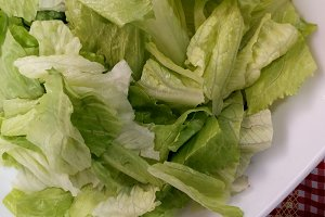Lettuce natural salade