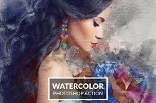 watercolor action