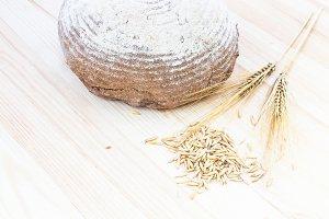 Organic Healthy Food Set.