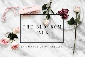 THE BLOSSOM LOGO PACK