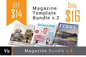 Magazine Template Bundle vol. 02