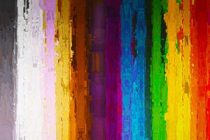 Vertical painting color lines illustration background