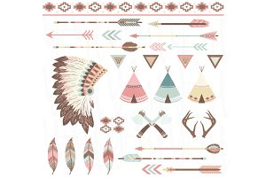 Tribal Clip Art Collection