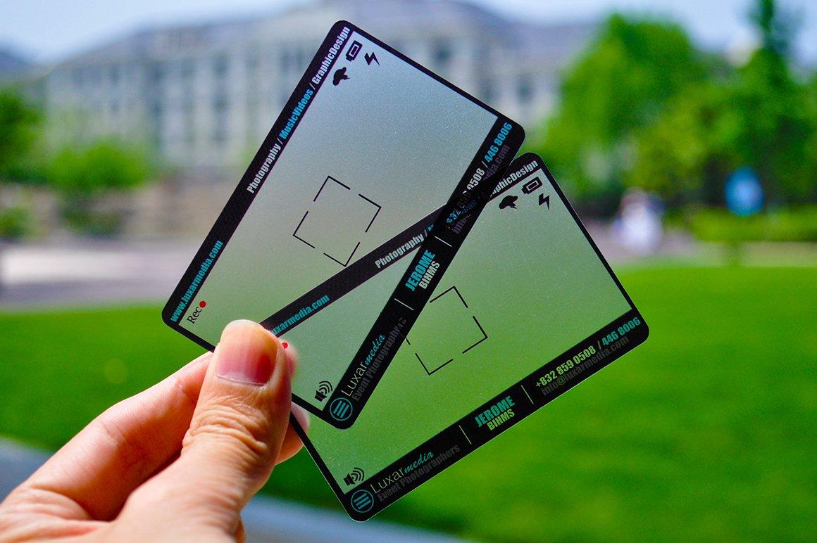 Plastic Photographer Business Card ~ Business Card Templates ...
