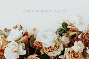 Holiday Florals Announcement Image