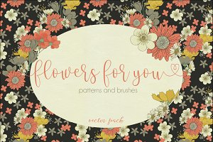 Flowers for You - Vector Pack