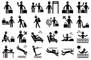 Pictogram Travel Icon