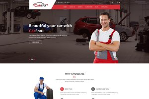 Carspa -Car Wash & Workshop WP Theme