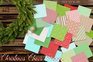 28 Christmas Cheer Papers