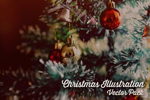 Christmas Illustration Vector Pack