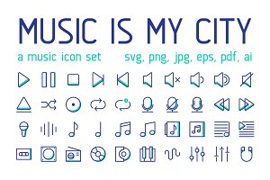 Music Is My City