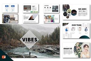 Vibes Minimal Clean Presentation