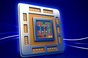 CPU processor chip