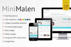 MiniMalen - Responsive HTML Template