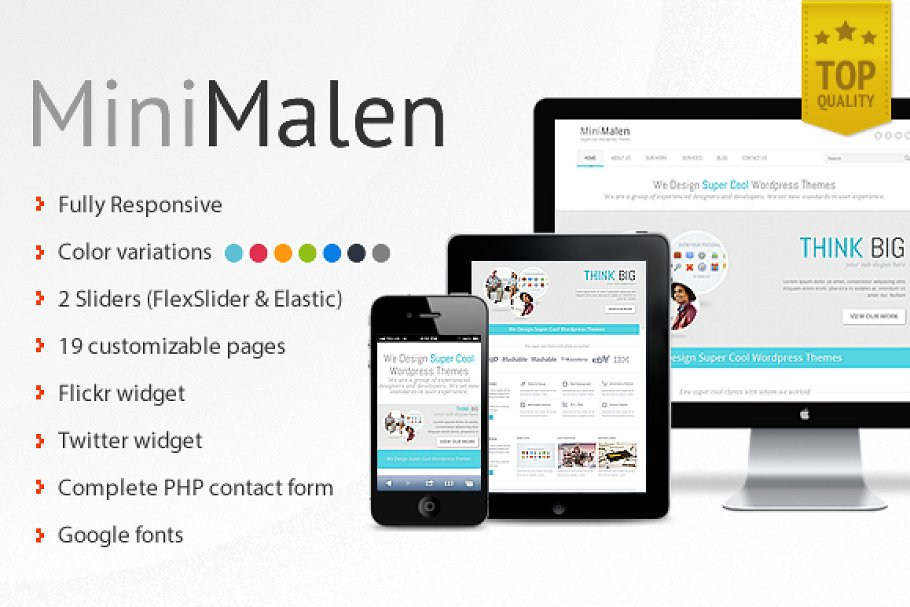9 Business PHP Themes & Templates