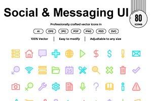 Social & Messaging UI