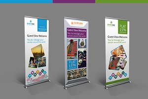 Hotel / Travel Roll-up Banner