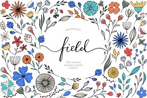 "Floral Collection ""Field"""