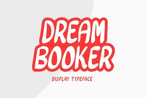Dream Booker Typeface