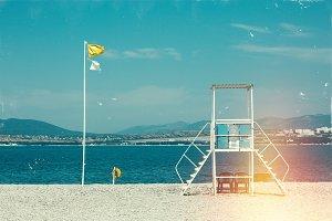Lifeguard Tower Gelendzhik Beach