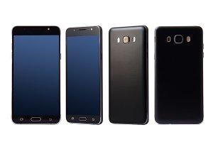 New black smartphone