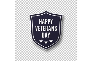 Veterans day background template.
