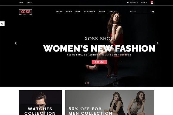 Xoss - WooCommerce WordPress Theme