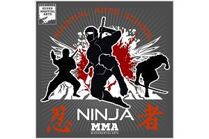 Ninja Warrior Fighter - Mixed Martial Art
