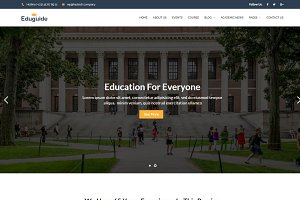 Eduguide – Education WP Theme