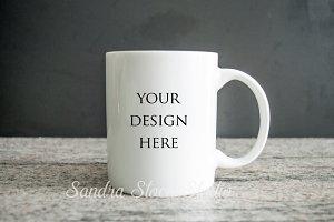 Simple mug mockup