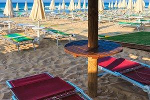 Beach Maldives of Salento, Italy