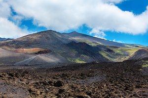 Etna volcano view, Sicily, Italy