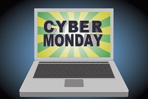 Cyber monday computer