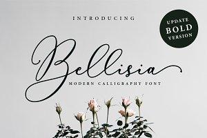 Bellisia Script + Bold Version