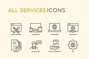 Most Essential Services Icons
