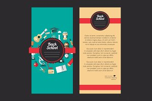 Vector School Flyer Templates