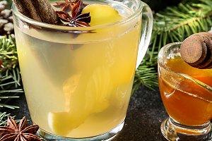 Winter Ginger drink