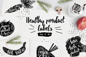 Healthy product labels