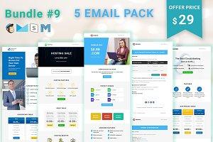 5 Email Templates Bundle - 9