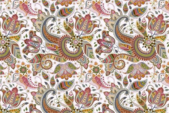 Light seamless pattern in Patterns