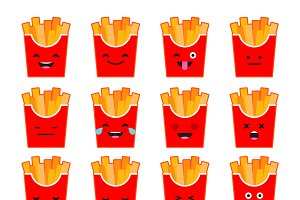 Set Emotions French Fries.