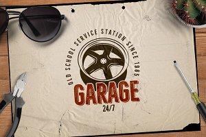 Garage - Car Service Emblem