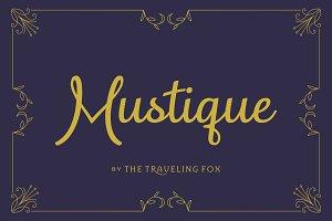 Mustique Script