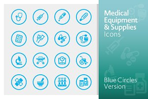 Blue Medical Equipment & Supplies