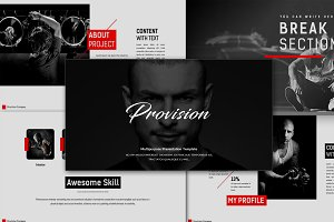 Provision Powerpoint Template