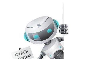 Cyber Monday robot