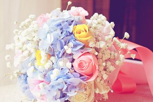 Beautiful bouquet for wedding